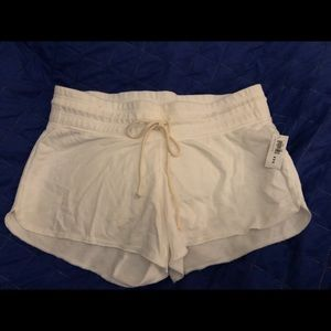 NWT Old Navy White French Terry Fleece Shorts